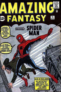 Amazing Fantasy 15, Comic book, Marvel Comics