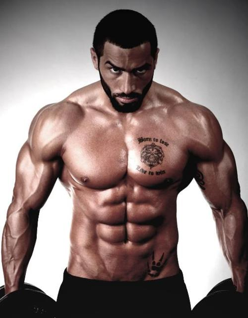 Lazar Angelov, fitness model