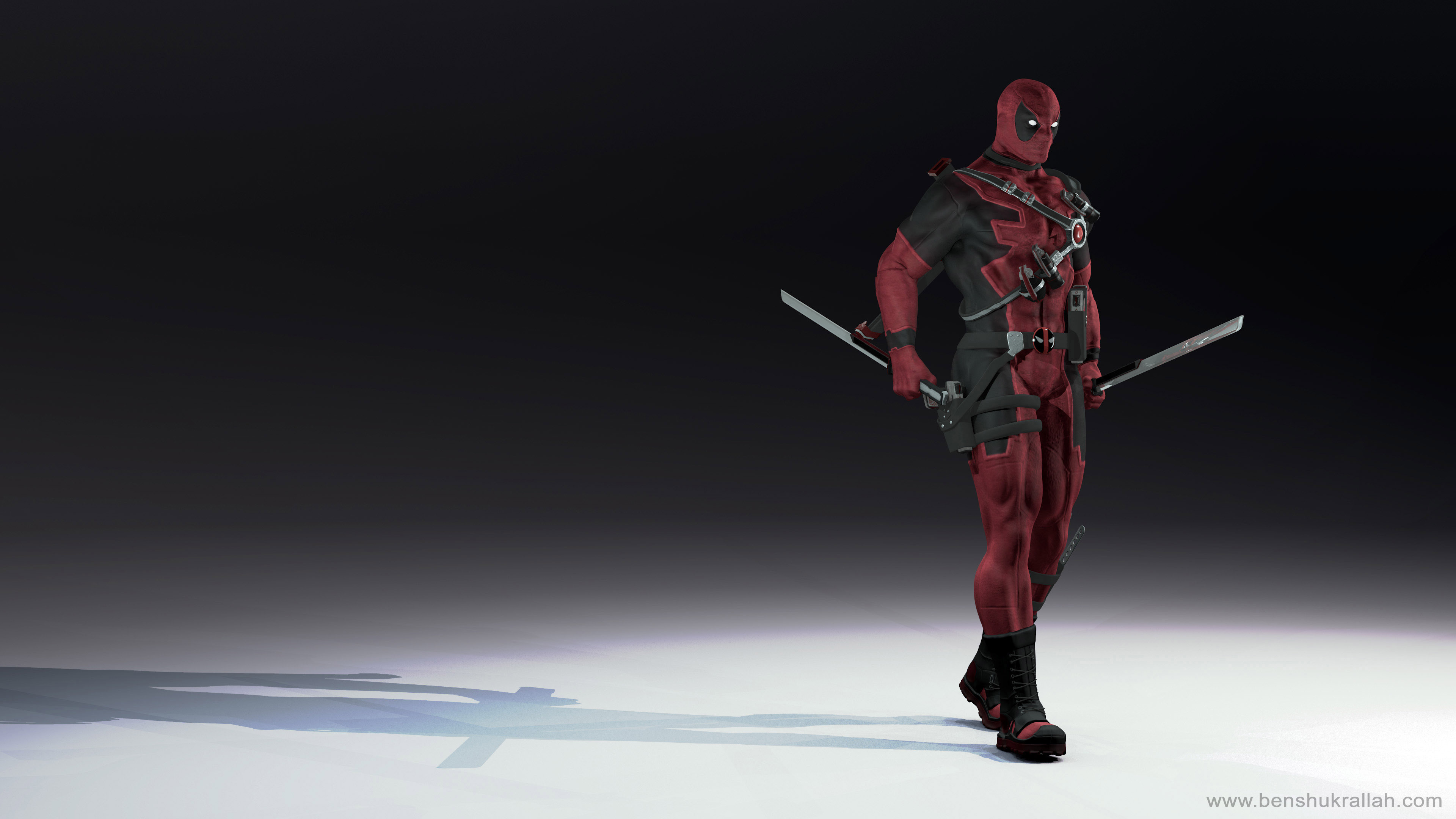 Deadpool 3d model ben shukrallah ben shukrallah 3d model sites